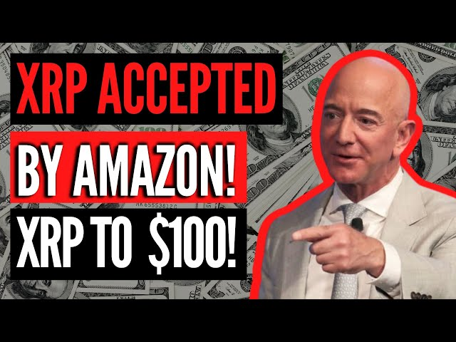 XRP TO $100! *BREAKING NEWS* AMAZON ACCEPTING XRP AS PAYM… #ripple #xrp #blockchain #cryptocurrency