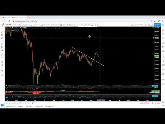 Bitcoin Cash Technical Analysis for February 25, 2021 - BCH