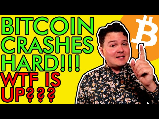 BITCOIN CRASHES HARD! WTF IS HAPPENING? WHAT NOW? [Crypto… #Bitcoin #BTC