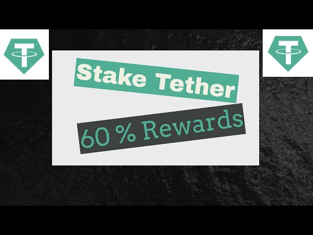 #Tether #USDT Stake Tether (USDT) and Earn 60% Staking Rewards