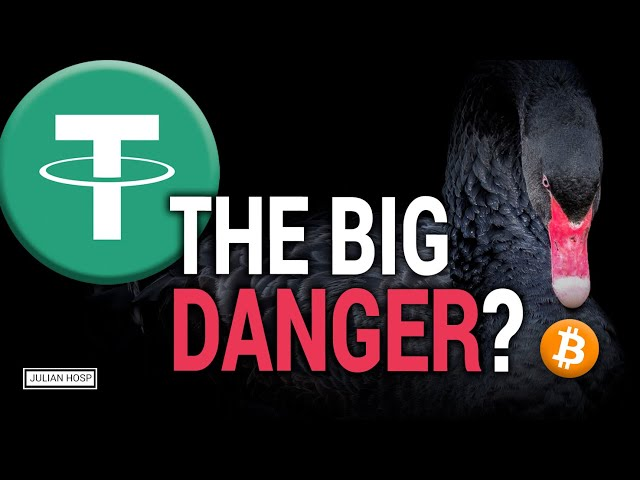 ATTENTION BITCOIN CRASH: USDT Tether Black Swan possible?!?! #Tether #USDT