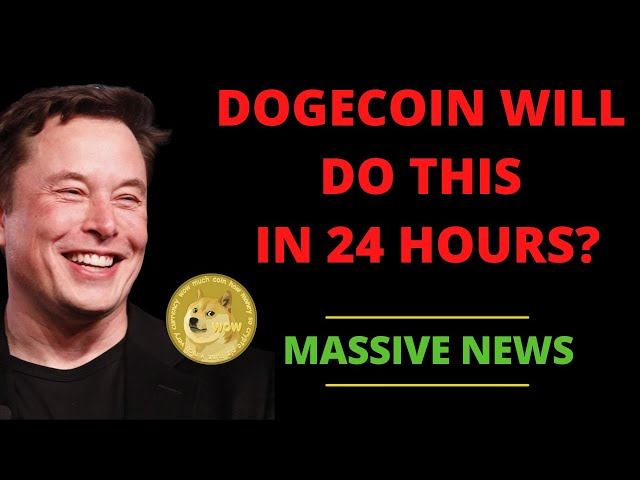 MASSIVE MOVES COMING TOMORROW FOR DOGECOIN, SHIBA INU, ET… #dogecoin #doge
