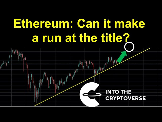 Can it make a run at the title? #Ethereum #ETH
