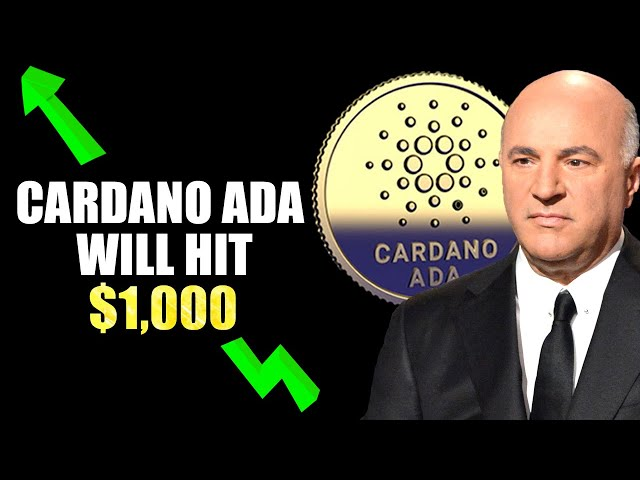 Why Kevin O'Leary STRONGLY Believes Cardano ADA Will Reac… #Cardano #ADA