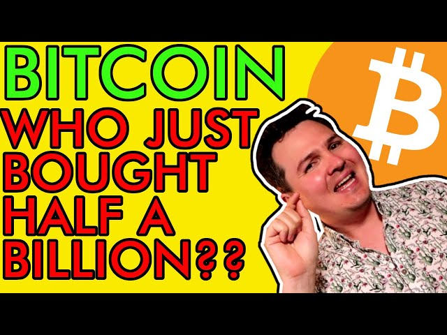 WHO IS BUYING $590,000,000 OF BITCOIN!?!? THE NEXT BIG BT… #Bitcoin #BTC