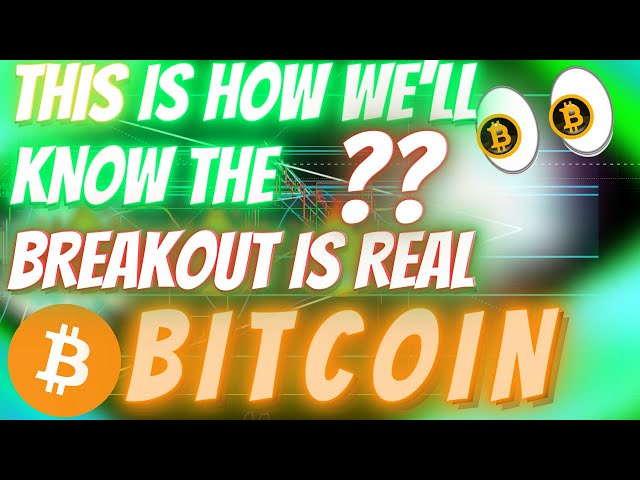 #Bitcoin #BTC *THIS* IS HOW TO TELL WHEN BITCOIN IS GOING TO SMASH THROUGH ALL TIME HIGHS!!! (We Will See This)