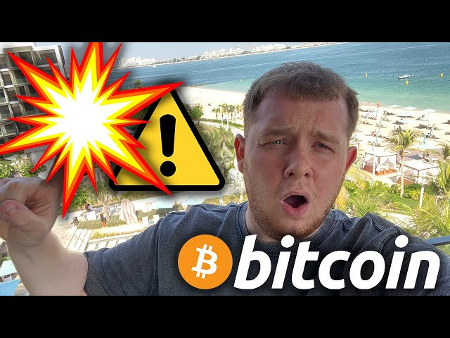 HUUUUGE WARNING TO ALL BITCOIN & ETHEREUM HOLDERS TODAY!!!!!!!!!!!!!!!!!!