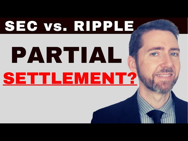 Ripple / SEC Response to Intervention Suggests a Partial … #Ripple #XRP