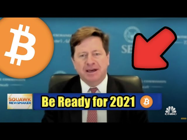 #Bitcoin #BTC The US SEC Chairman Warns of Upcoming Cryptocurrency Regulation in 2021 | Bitcoin & Ethereum News