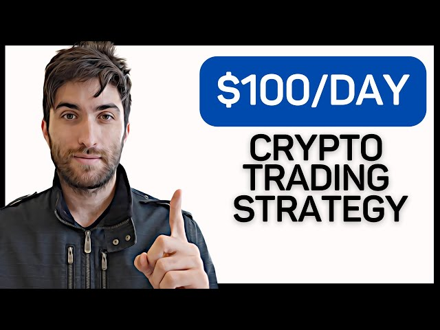 #crypto #beginner How to Make $100+ A Day Trading Cryptocurrency As A Beginner | Complete Tutorial & Strategy