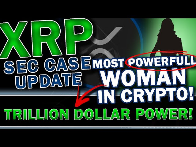 MAJOR XRP RIPPLE UPDATE: Most POWERFULL Woman In Crypto: Reviews RIPPLE / XRP Case! + Huge ETH Pump!