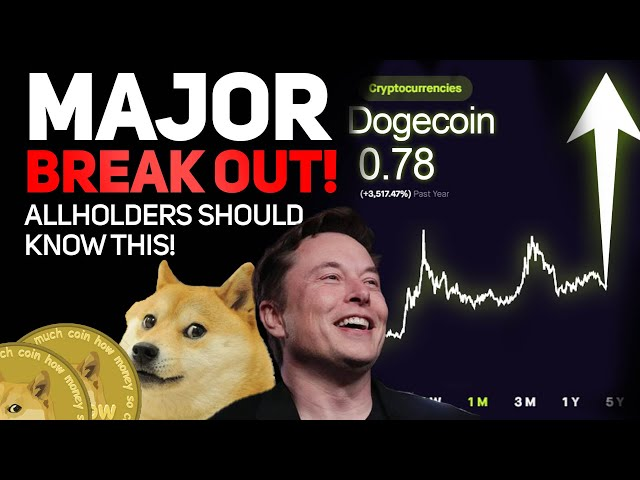DOGECOIN IS BREAKING OUT NOW! (.78 CENTS NEXT!) (IMPORTANT DOGECOIN NEWS!)