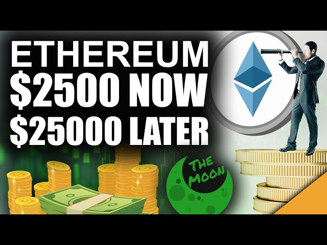 Ethereum $2,500 NOW (Strongest Case For $25,000 ETH) #Ethereum #ETH