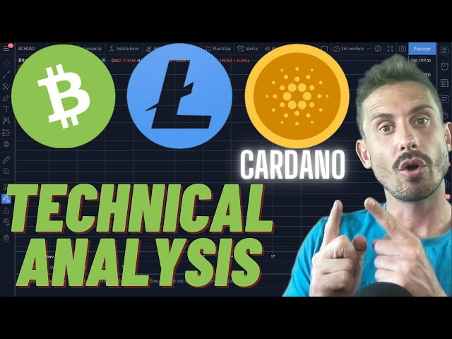 HUGE IMPORTANT LEVELS TO WATCH FOR LITECOIN, CARDANO AND BITCOIN CASH!!! (Bullish Setups...)