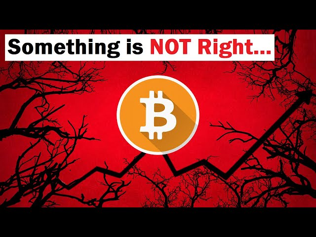 #Bitcoin #BTC Something is Not Right with This Bitcoin Rally (Warning Signs Flashing)