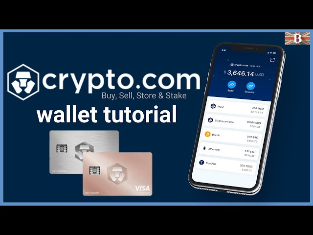 #crypto #beginner Beginners Guide to Crypto.com Wallet Tutorial: Buy, Store & Stake All-in One Wallet