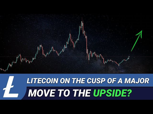 Litecoin On The Cusp Of A Major Move To The Upside Again? #litecoin #ltc #blockchain