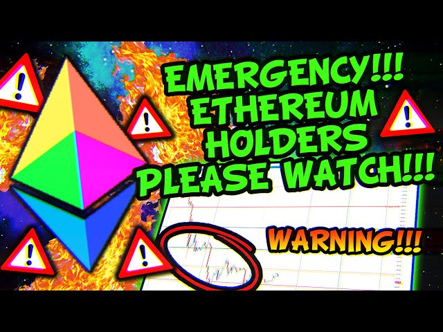 ETHEREUM IS DUMPING TO THIS LEVEL!!!!!!!!!!! (not good) #Ethereum #ETH