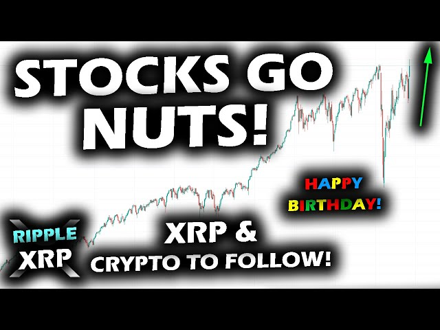 RIPPING TO NEW ALL TIME HIGHS! Stocks Take the Lead for Crypto and Ripple XRP Price Chart to Follow!