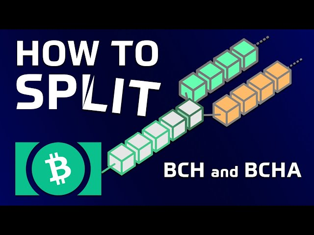 How to Split Bitcoin Cash (BCH) & Bitcoin ABC (BCHA)