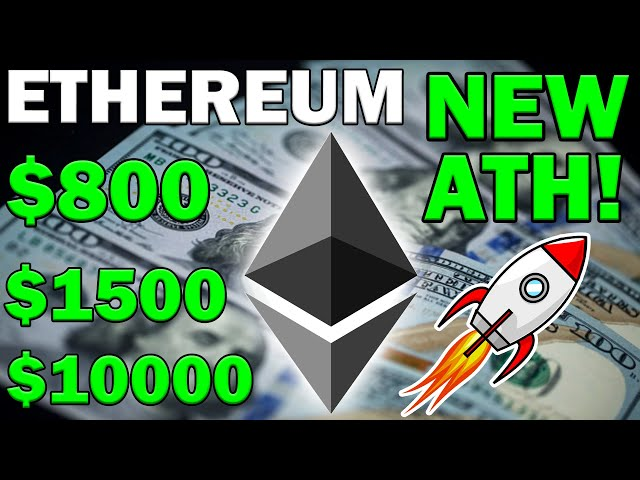 #Ethereum #ETH IMPORTANT NEWS! ETHEREUM TO SMASH $800! ETH TO $10000?