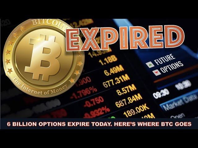 HERE'S WHAT HAPPENS WHEN 8 BILLION IN OPTIONS EXPIRE ON B… #Bitcoin #BTC