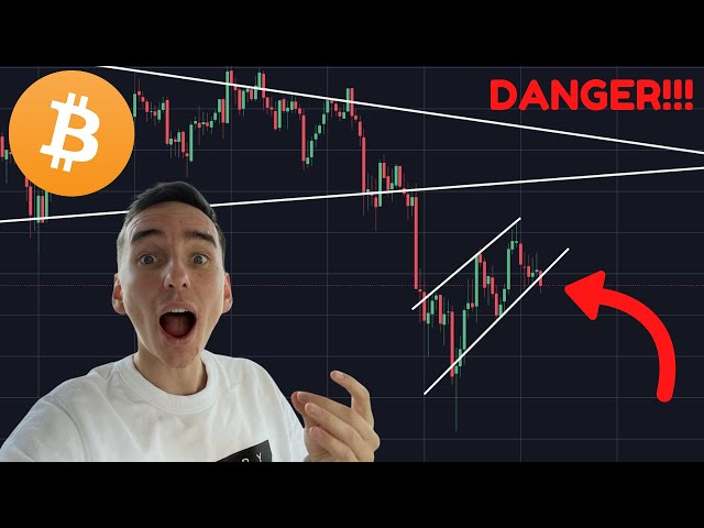 THIS IS DANGEROUS FOR BITCOIN!!!!!!!!!!!!!!!!! [next target] #Bitcoin #BTC