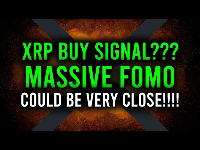 RIPPLE XRP BUY SIGNAL? WE'RE IN BEFORE MASSIVE FOMO!!! &a… #Ripple #XRP