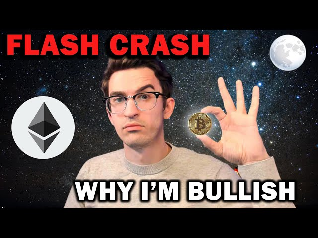 CRYPTO FLASH CRASH and Why This Is Bullish! #Ethereum #ETH