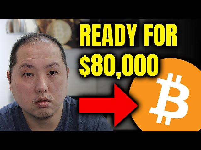 BITCOIN READY TO LEAP TO $80,000 #Bitcoin #BTC
