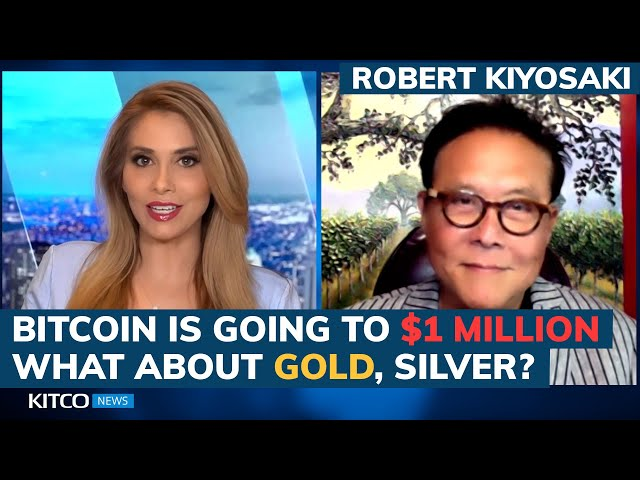 Robert Kiyosaki : Bitcoin will be over $1 million in 5 ye… #Bitcoin #BTC