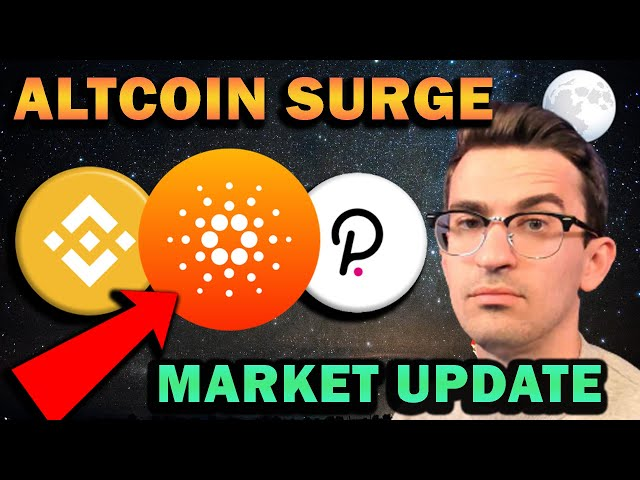 ETHEREUM KILLERS SURGE!! Crypto Market Update