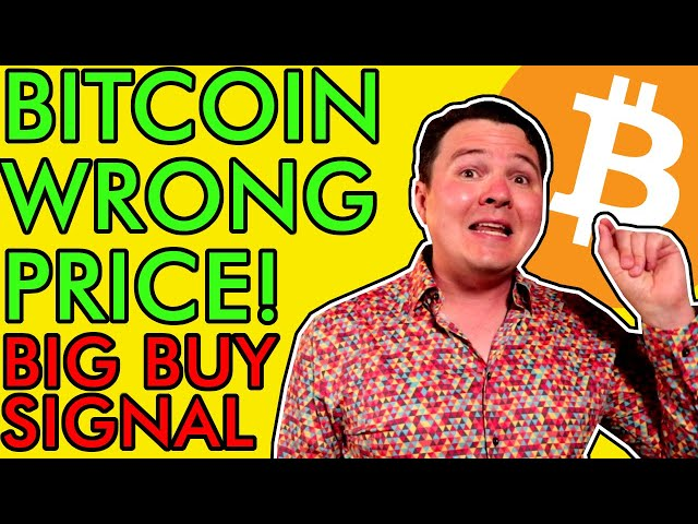 #Bitcoin #BTC BITCOIN TODAY IS THE WRONG PRICE, HUGE BUY SIGNAL FLASHING! [BTC Holders Must See]