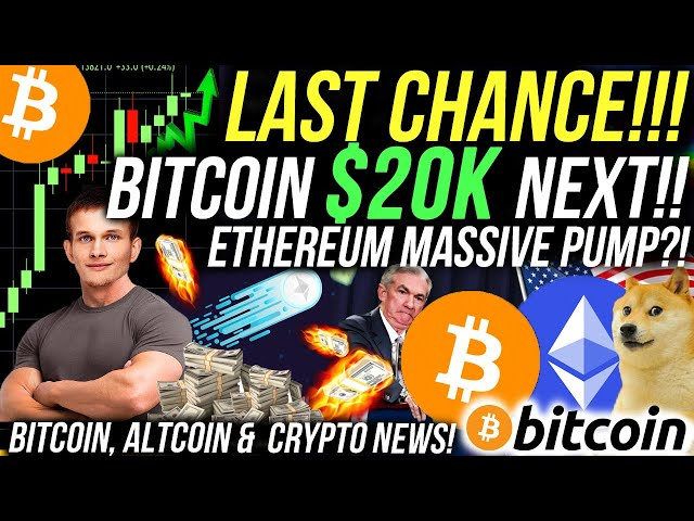 BITCOIN JUST BROKE OUT!!! ETHEREUM PRICE 50% CORRECTION TO $700?! Crypto News