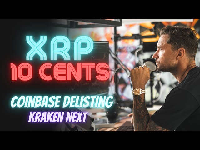 10 Cent XRP Price Prediction – Coinbase Delisting Will Le… #Ripple #XRP