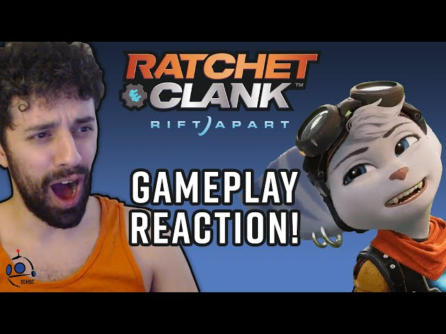My Rift Apart Gameplay Trailer Reaction! #NEM #XEM