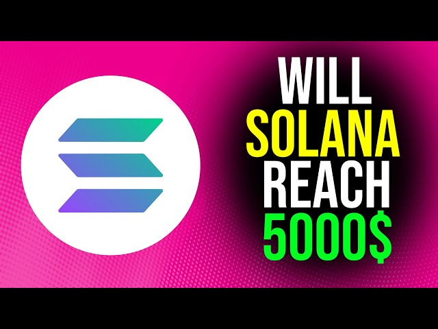Can SOLANA Token reach $5000 by 2025? – SOL Cryptocurrency #Solana #SOL