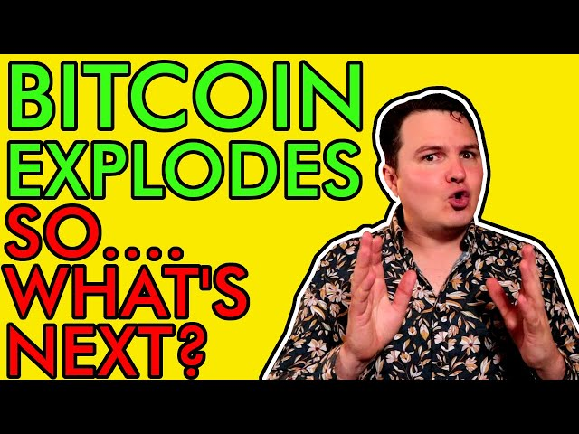 BITCOIN PRICE EXPLODES, WHAT HAPPENS NEXT WILL BLOW YOUR … #Bitcoin #BTC