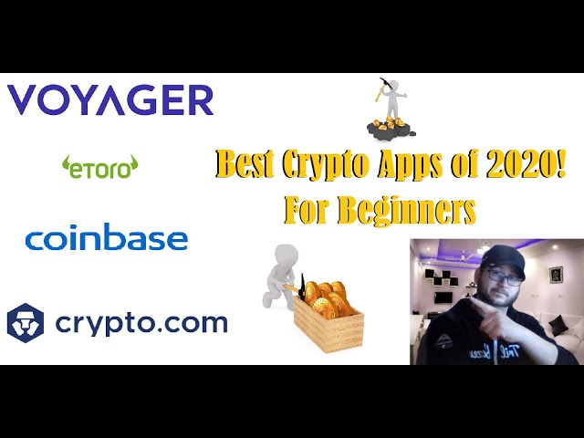 #crypto #beginner The Best Crypto Trading Apps of 2020!  (Great For Beginners!)