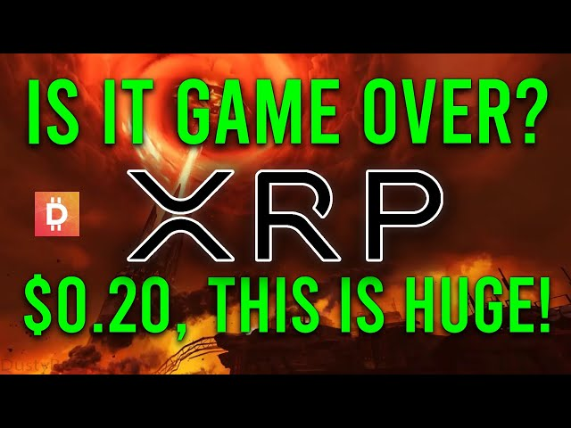 Ripple XRP News: Is It Game Over? $0.20 XRP, Ripple Ignor… #Ripple #XRP