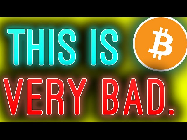 BITCOIN HOLDERS: YOU WON'T LIKE THIS VIDEO IF YOU'RE BULLISH ON BTC!!!!!!!!!!!!