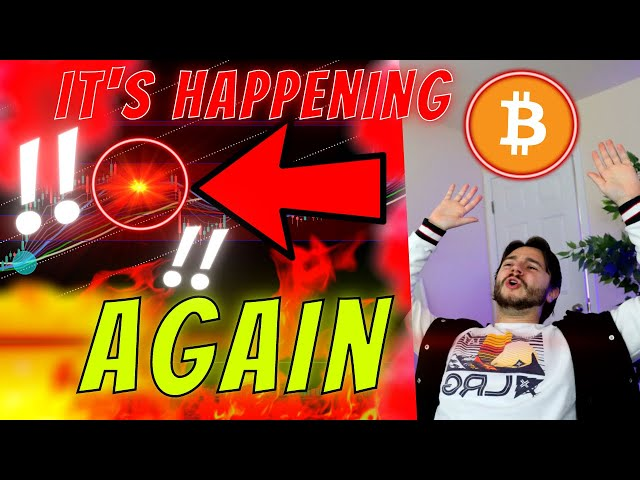 ATTENTION ALL BITCOIN HOLDERS – BITCOIN MUST HOLD **HERE*… #Bitcoin #BTC