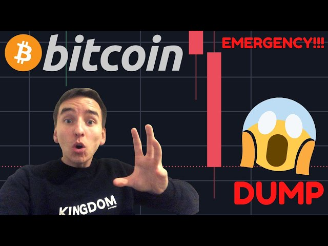 #Bitcoin #BTC EMERGENCY VIDEO!!!!!! BITCOIN IS COLLAPSING!!!!!!! Bearish Divergence PLAYED OUT!