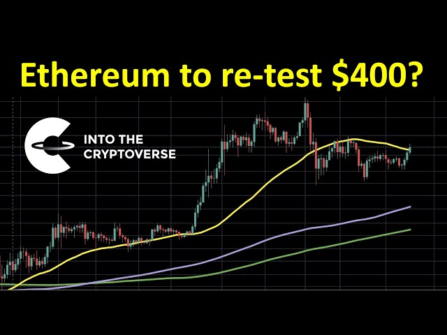 #Ethereum #ETH Ethereum to re-test $400 soon?