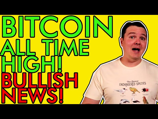 #Bitcoin #BTC BREAKING! BITCOIN HITS NEW ALL TIME HIGH PRICE!!! BULL RUN JUST GETTING STARTED! [Are You Ready?]