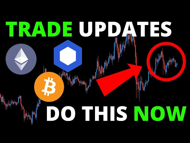 #Ethereum #ETH ALERT!! IMPORTANT TRADE UPDATES: CHAINLINK (LINK), BITCOIN (BTC) + ETHEREUM (ETH) | DO THIS NOW