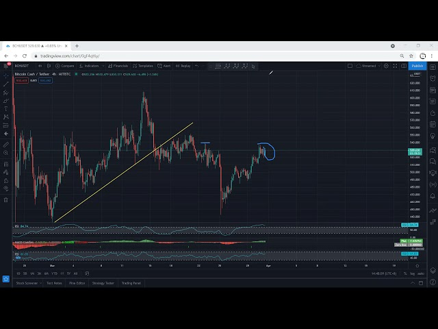 Bitcoin Cash Analysis for March 31, 2021 - BCH