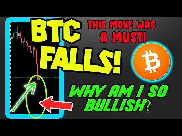#Bitcoin #BTC BITCOIN PRICE FALLS! AND I&39;VE NEVER BEEN MORE BULLISH!