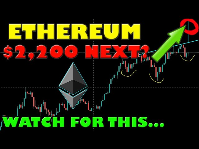 ETHEREUM MEASURED MOVE IS $2,200! THIS WILL PUSH ETH TO T… #Ethereum #ETH
