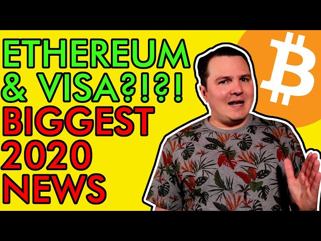 #Ethereum #ETH BREAKING! VISA PARTNERS WITH ETHEREUM USDC! BITCOIN SUPPLY CRISIS HEATS UP! [Crazy Crypto News]